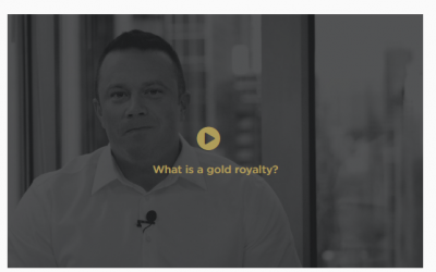 Marketing your gold royalty and streaming company