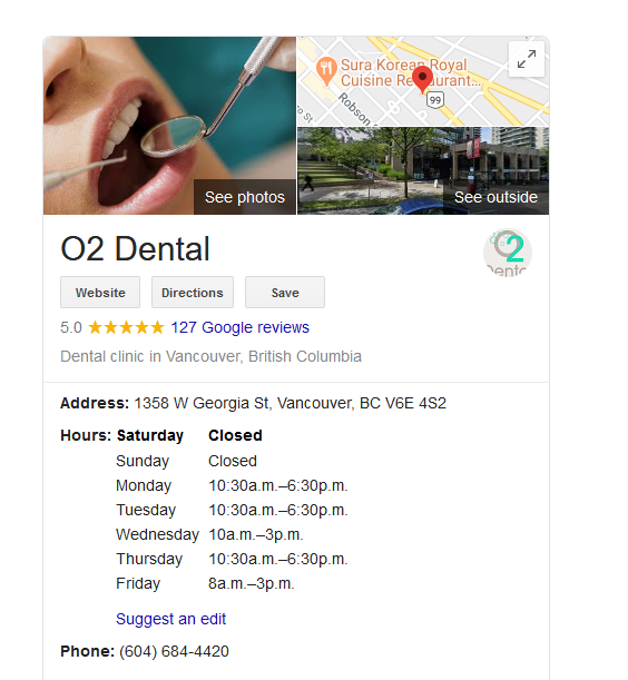 O2 Dental GMB overview