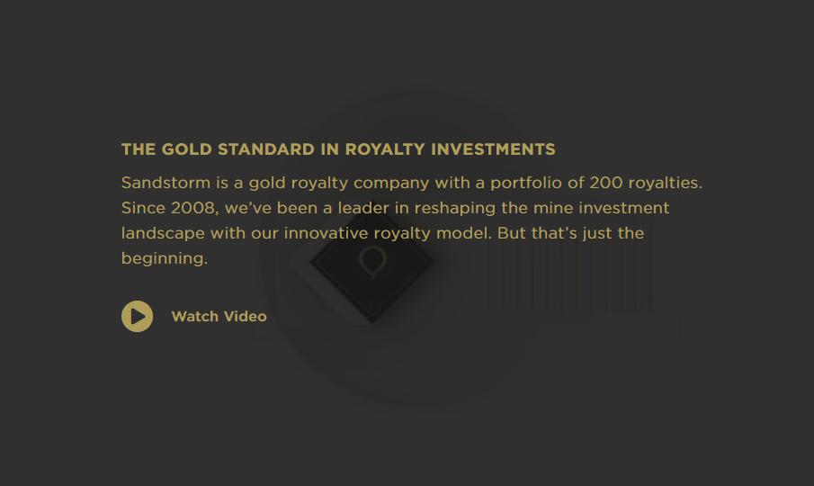 Sandstorm Gold intro video
