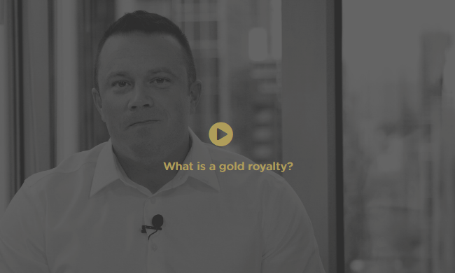 What is a gold royalty video