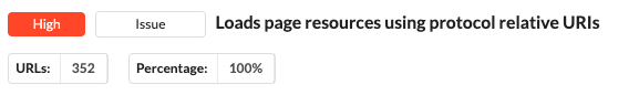 Protocol relative URLs