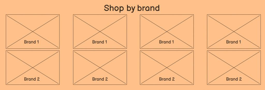 Brands as internal links