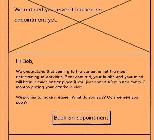 Come-back-email-wireframe-for-dentist